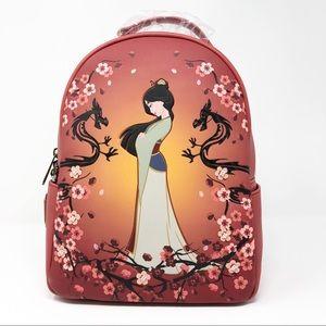 Disney Mulan Loungefly Magnolia Mini Backpack